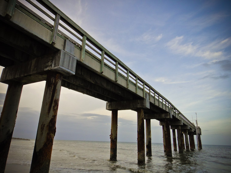 Photo of Pier in St Augustine Beach Florida