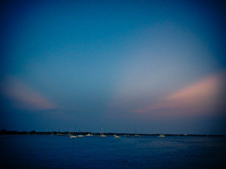 Photo of moody blues sunset in saint augustine florida