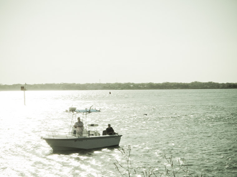 Picture of fishing Haze in Saint Augustine Florida