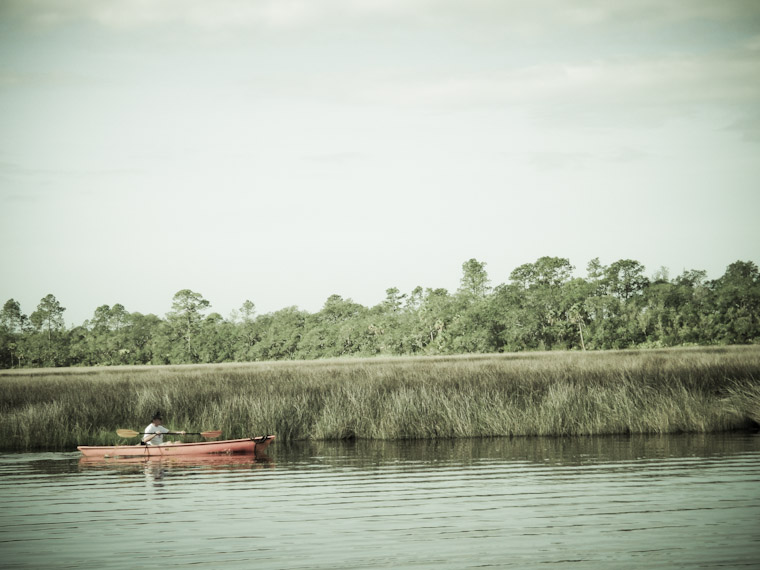 Photo of Orange Kayak in St Johns County Florida