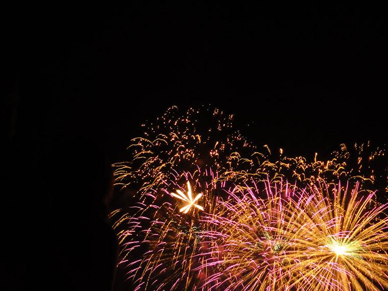 Fireworks explosion in Saint Augustine Florida