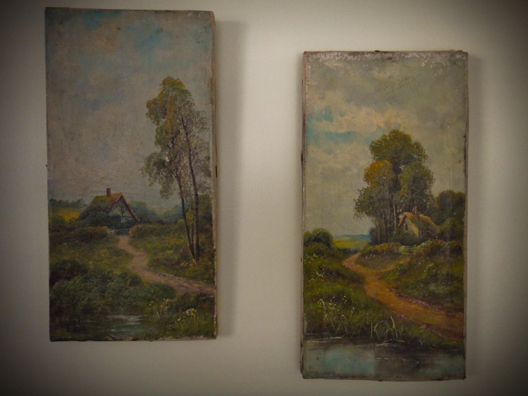 Garage sale finds Ernest Cole Paintings