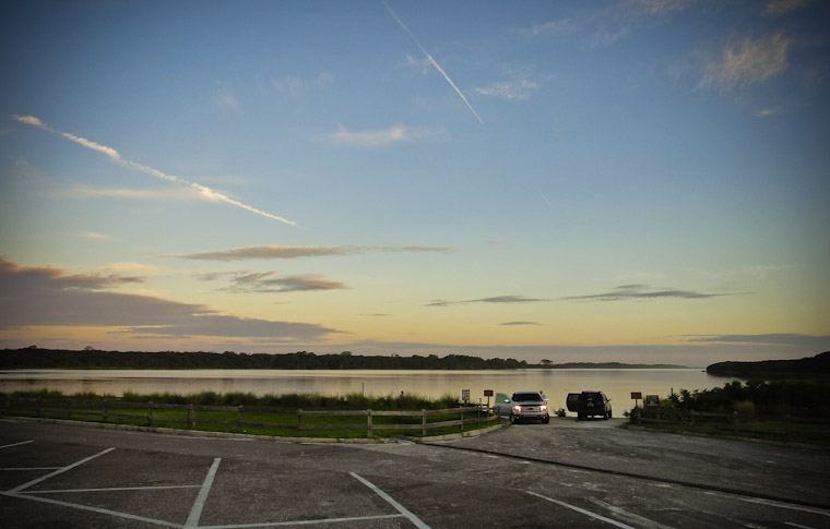 Photo of morning boat ramp at Guana in St Augustine Florida