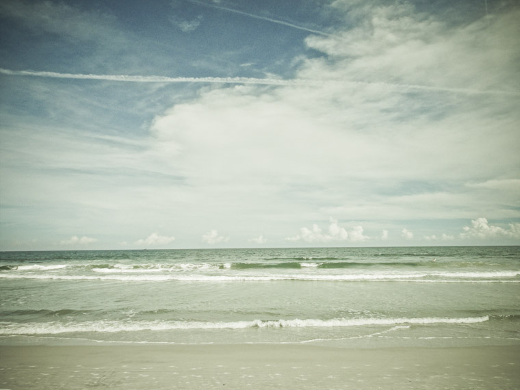 Picture of the beach in St Augustine Florida