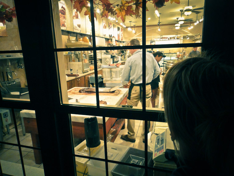 Picture of kilwin's fudge making on St George Street