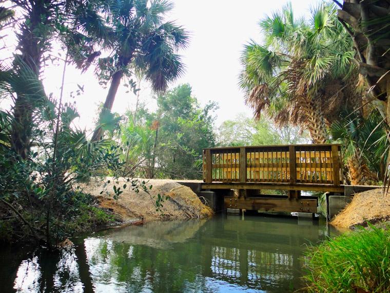 Bing's Landing Mini Bridge in Saint Augustine Florida