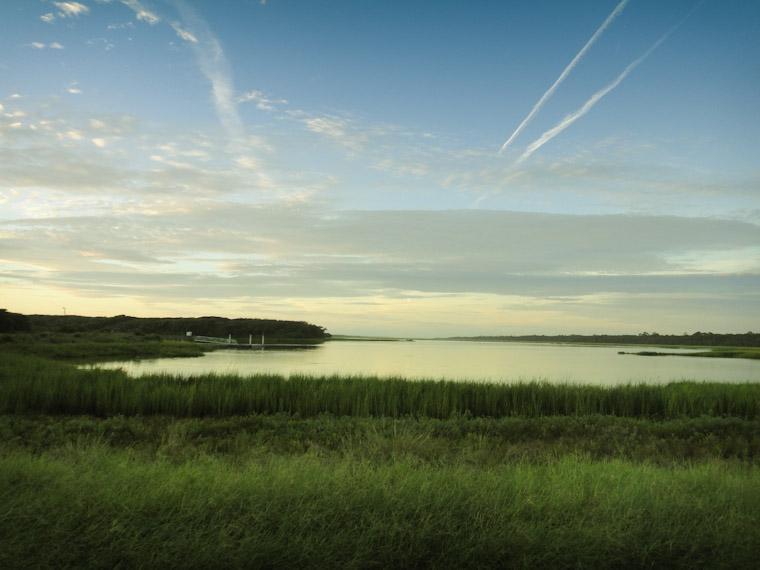 Guana morning sunrise in St Augustine Florida
