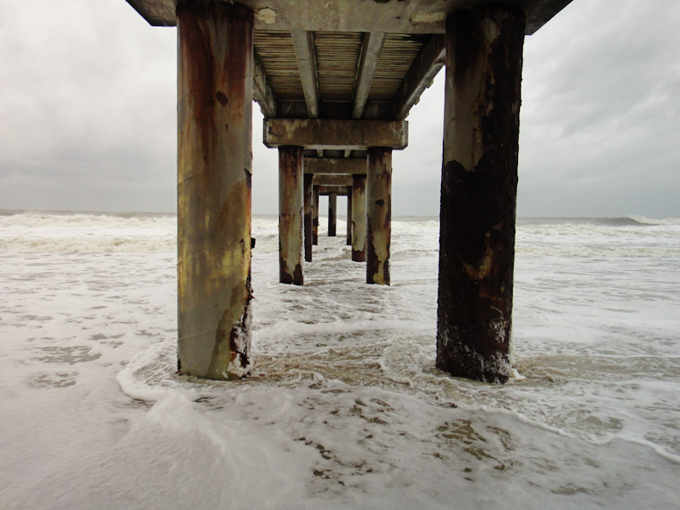 Picture of the pier in St Augustine Beach Florida