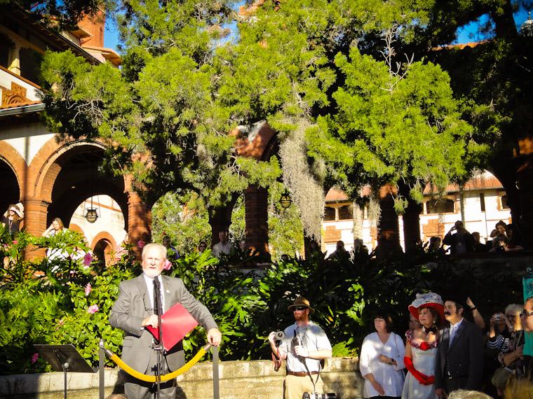 Mayor Boles speaks at 125th Celebration