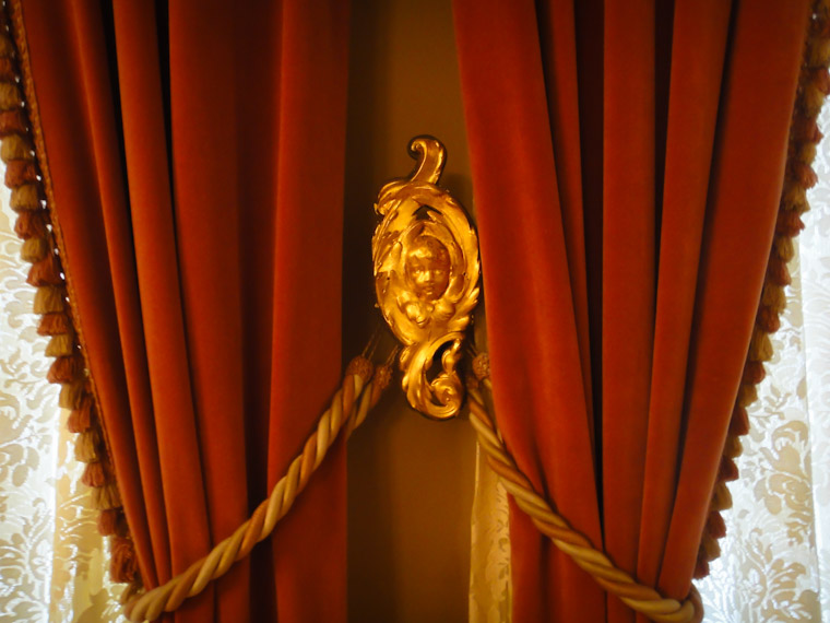 Picture of Flagler Room Curtain Detail