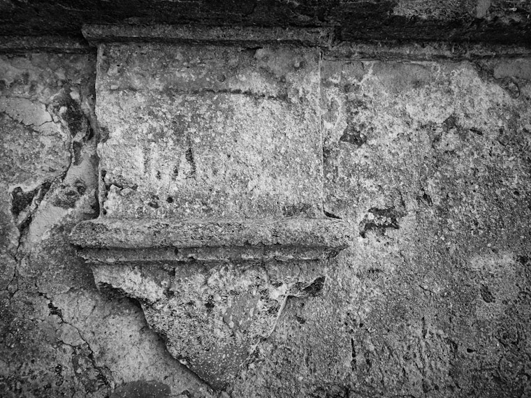 Picture of fort detail from castillo de San Marcos coquina wall