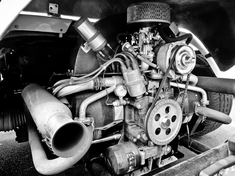 Picture of dune buggy engine