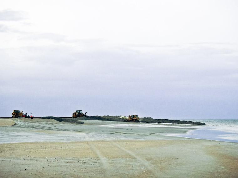 Old St Augustine Beach dredge photo