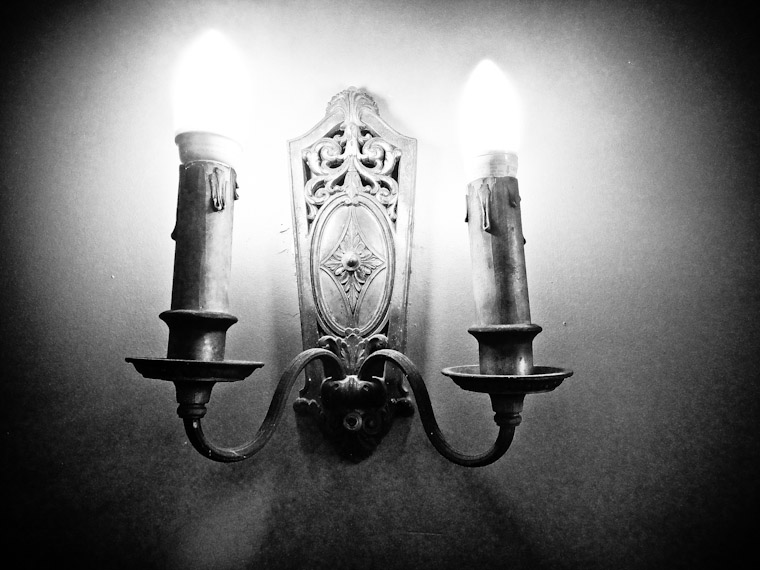 Flagler College wall sconce light