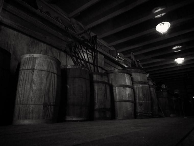 Barrels at Florida Agricultural Museum