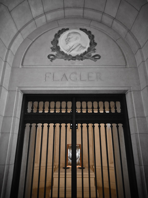 Henry Flagler's tomb at Memorial Presbyterian
