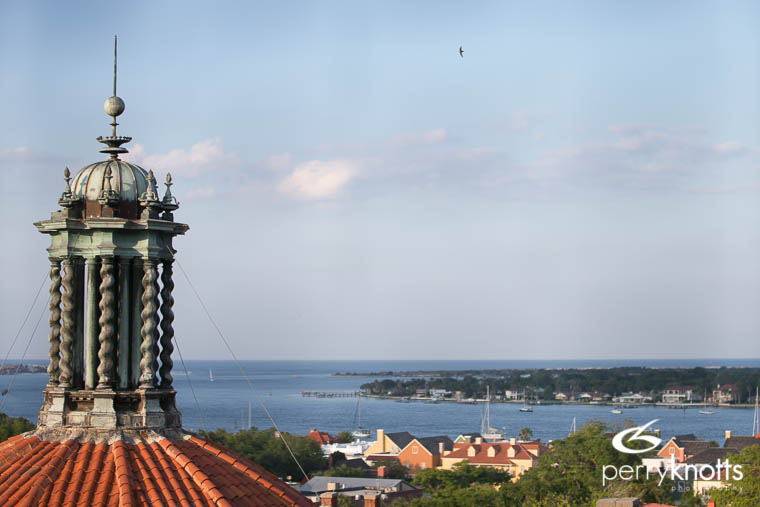 Top of Flagler College by Perry Knotts Photography