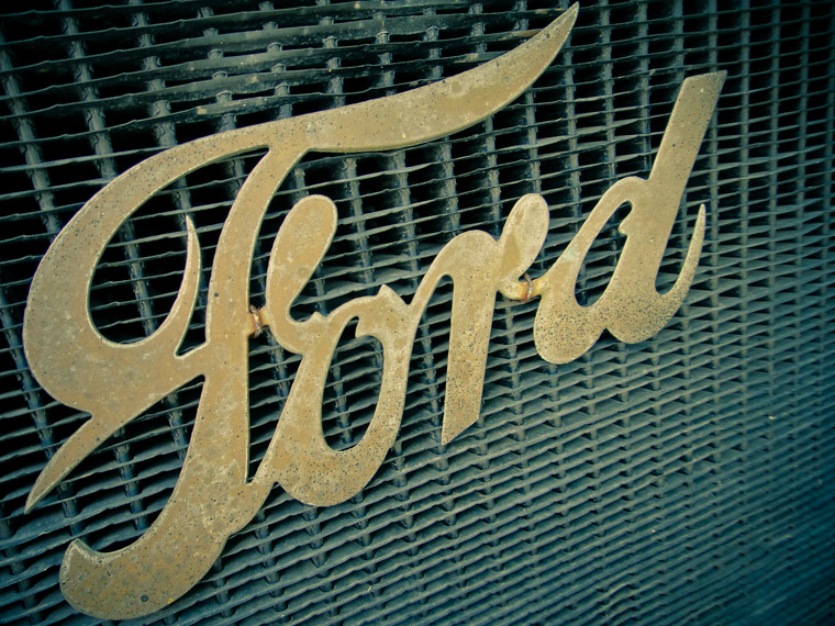 Picture of Ford model t grille