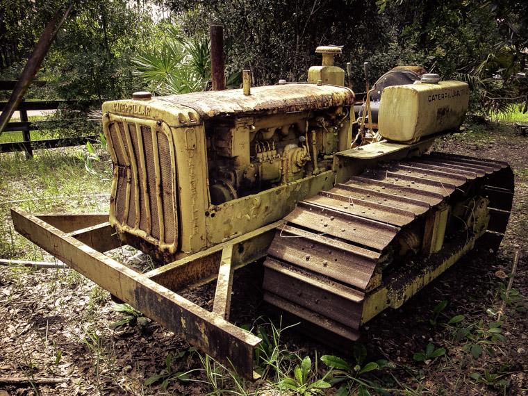 Caterpillar D4 Tractor Ring Power Florida Agricultural Museum