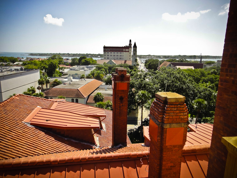 Downtown view from Flagler's Roof
