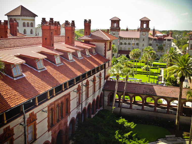 Hotel Ponce de Leon, Casa Monica, Lightner Museum