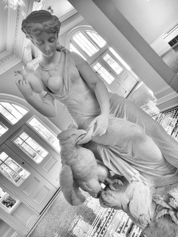 Lightner Museum Marble Statue