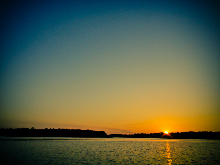 Intracoastal sunset