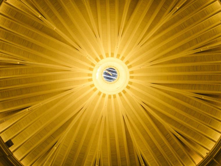 Picture of Hotel Ponce de Leon's Solarium ceiling