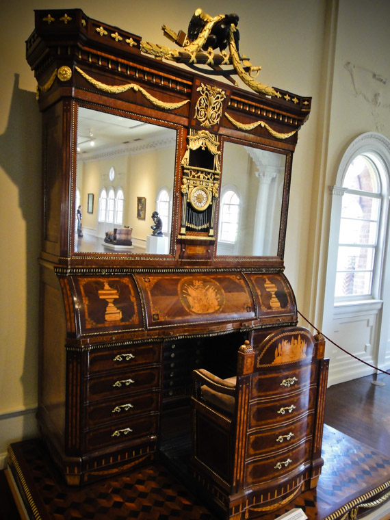 Napolean's Brother's Desk At Lightner Museum