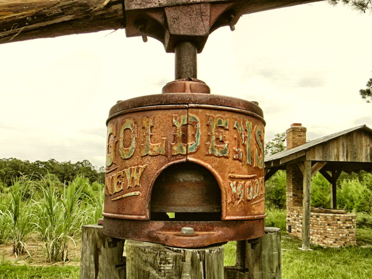 Goldens new model sugar cane mill at Florida Agricultural museum