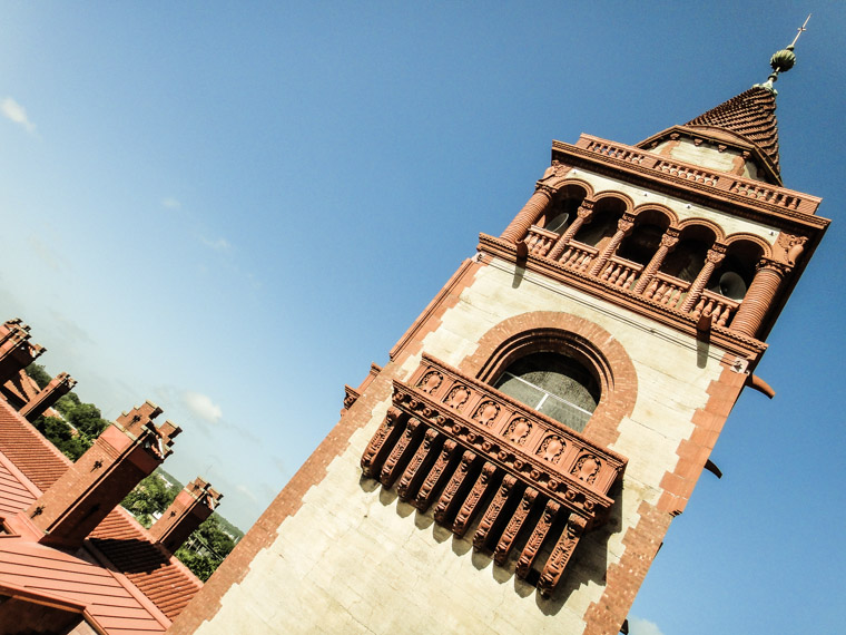 Flagler's Tower at Hotel Ponce de Leon