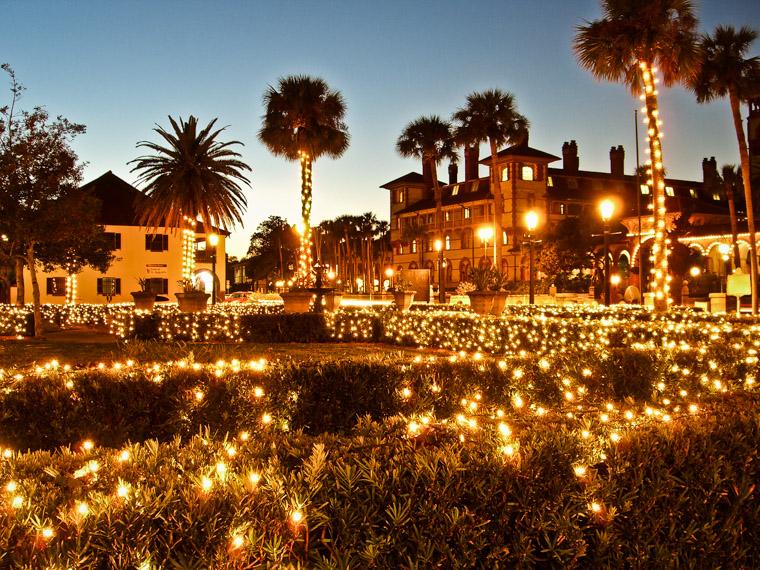 Flagler College Night of Lights by Lightner