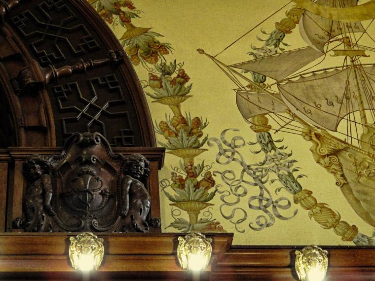 Hotel Ponce de Leon Flagler College Dining Room Details