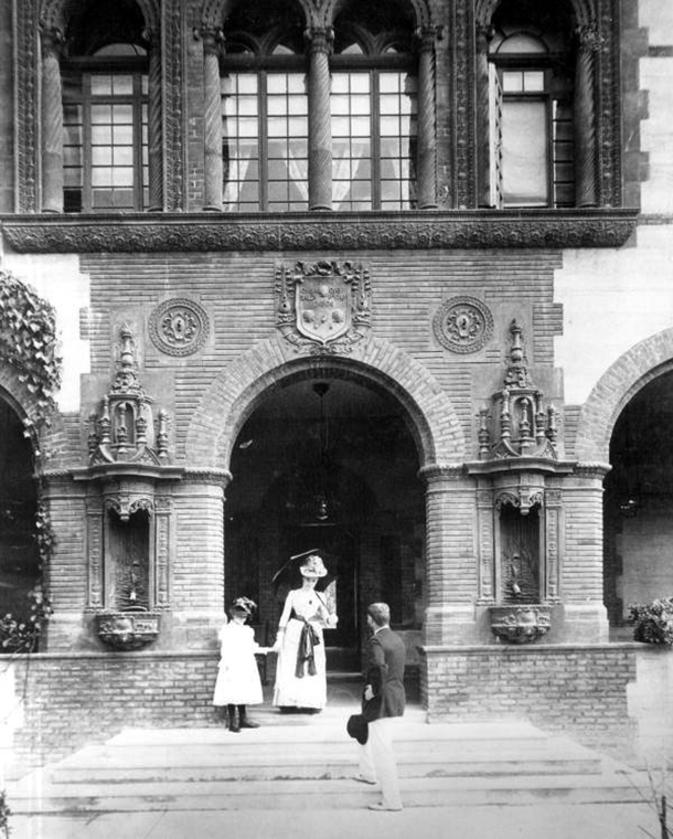 Historic shot of Flagler College Hotel Ponce de Leon