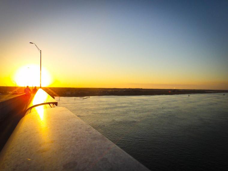 Vilano Bridge Sunset Walk