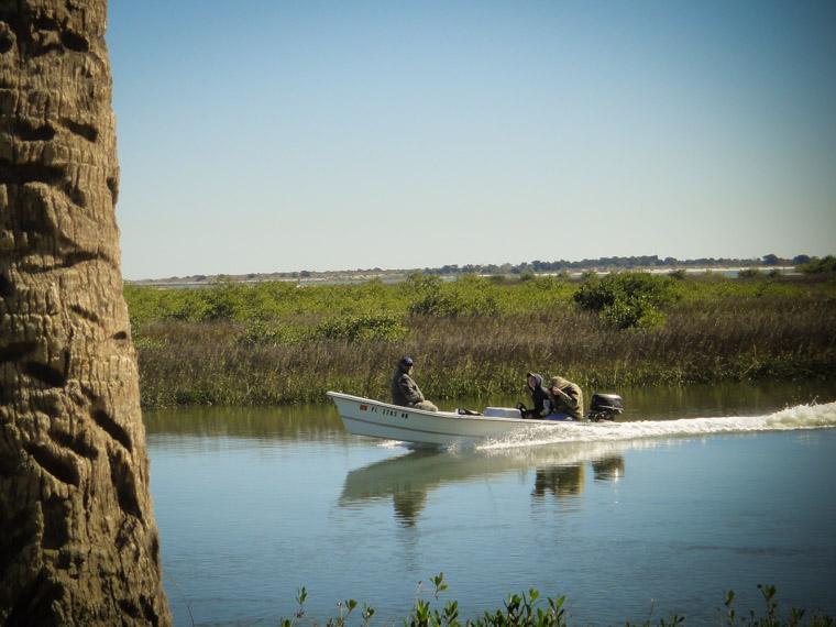Intracoastal Fishing Boat