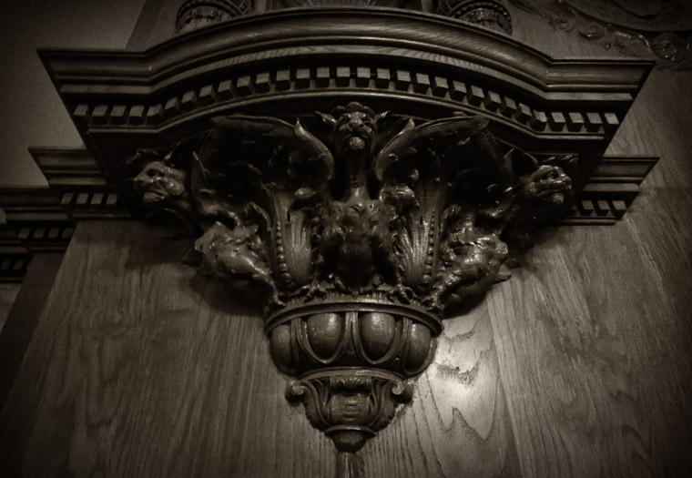Flagler College Dining Hall Carving