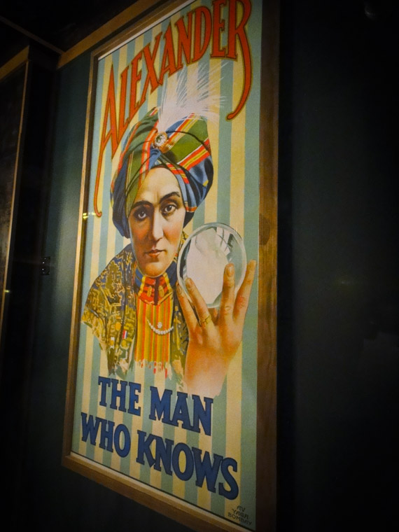 Vintage magic poster