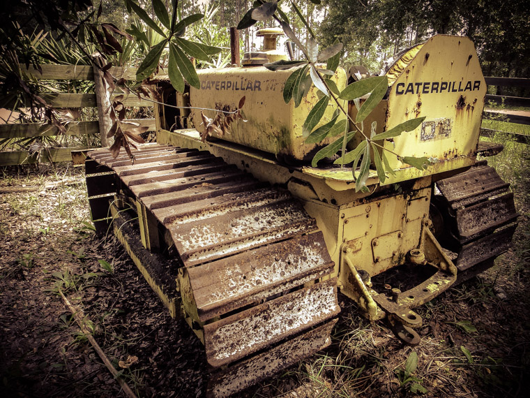 Caterpillar D4 Tractor at Florida Agricultural Museum