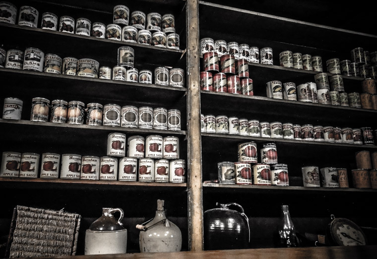 Florida agricultural museum general store canned goods