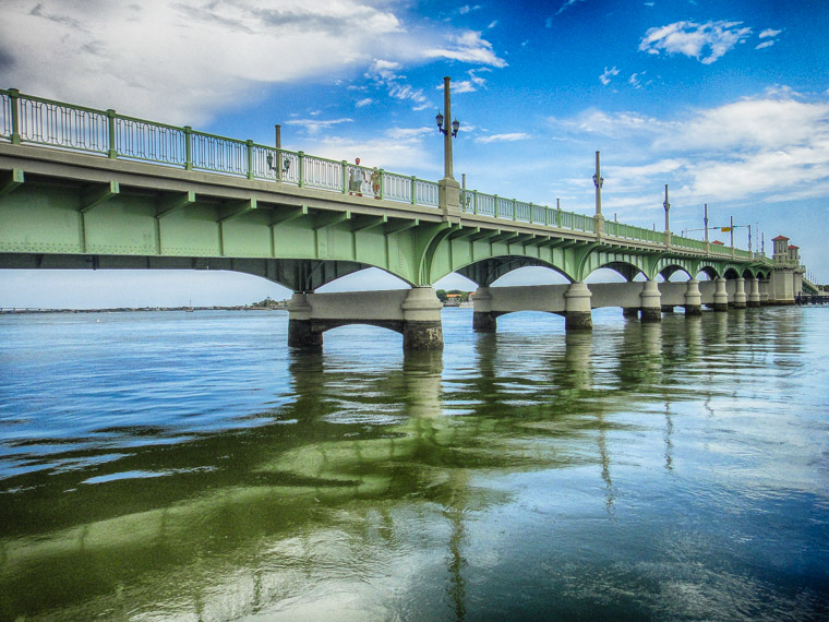Bridge of lions hdr image