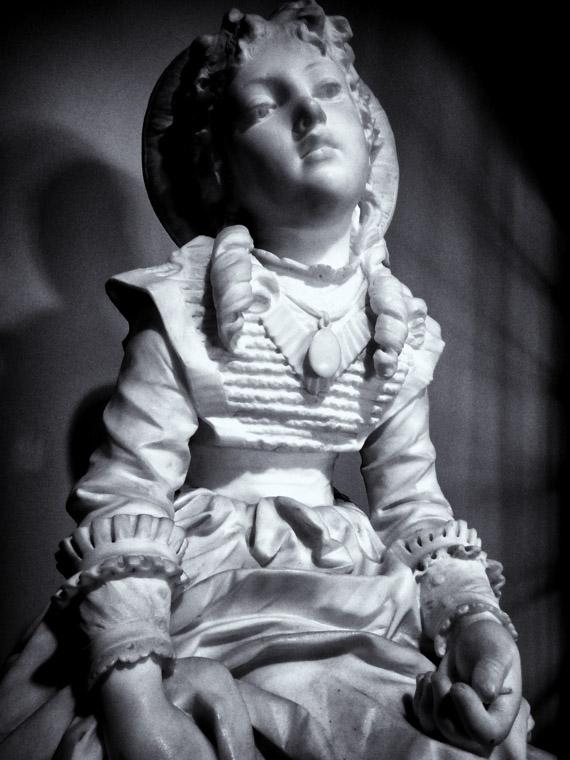 Lightner Museum Sculpture Pietro Lazzerini Carrara Marble Italy