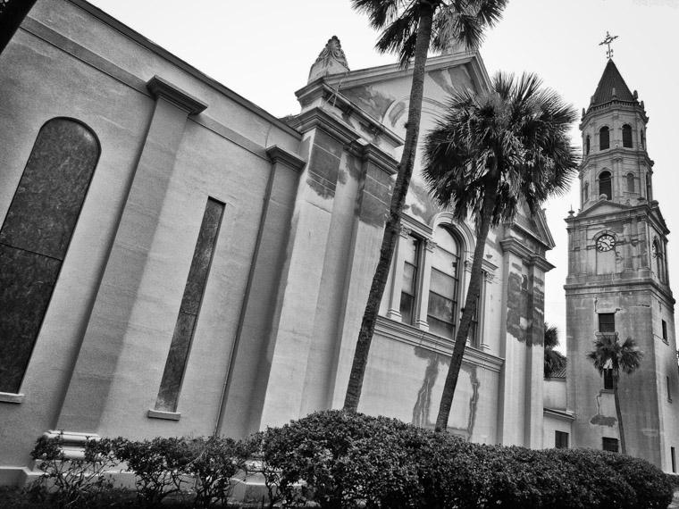 Cathedral Basilica Restoration Work in 2013