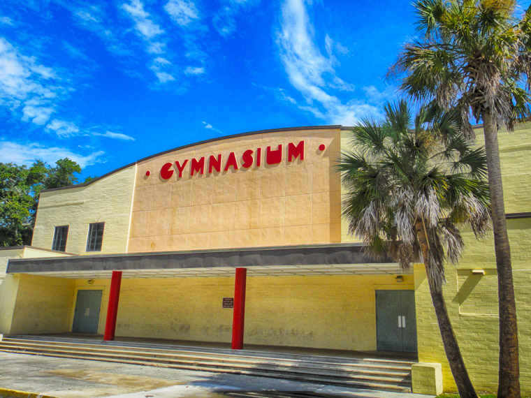 Gym hdr building