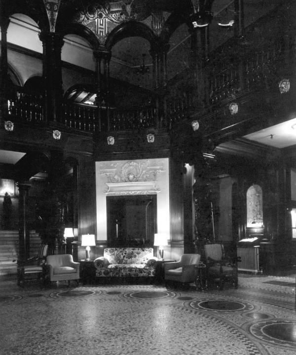 Flagler College Hotel Ponce de Leon Lobby