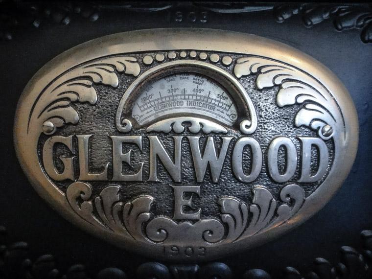Glenwood E Stove Vintage 1903 dow houses museum