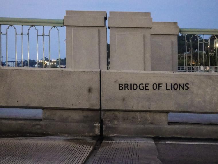 Bridge of Lions Morning