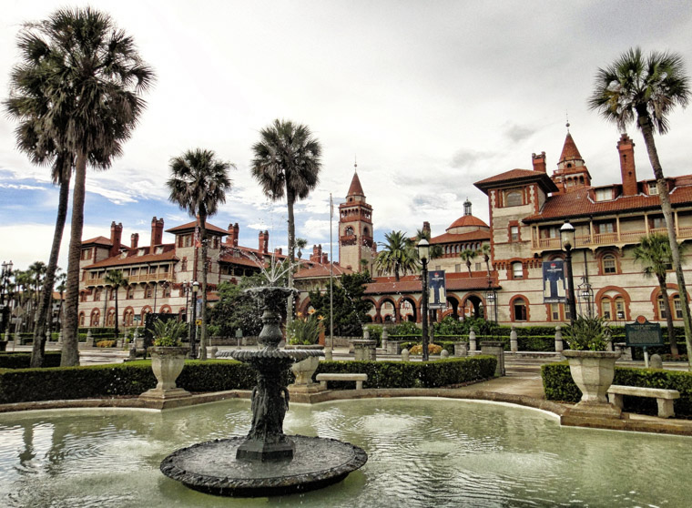 Flagler College Fountain Hotel Ponce de Leon