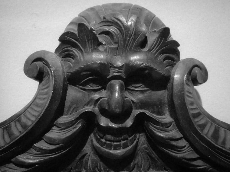 Sgabello smile chair at Lightner Museum