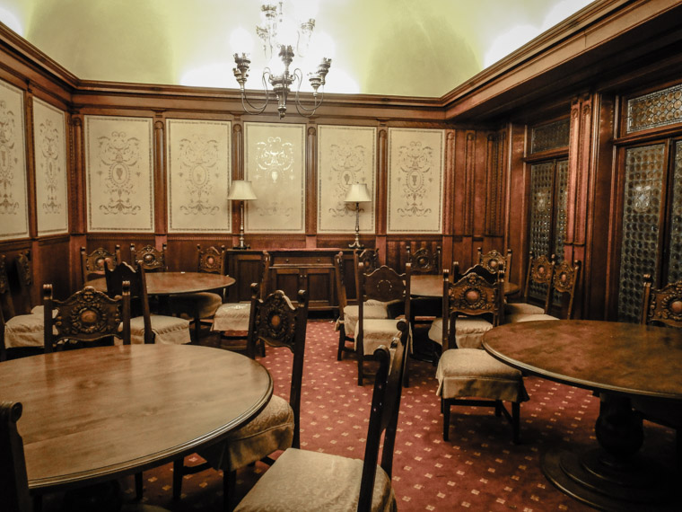 Flagler college dining hall private room ponce de leon hotel